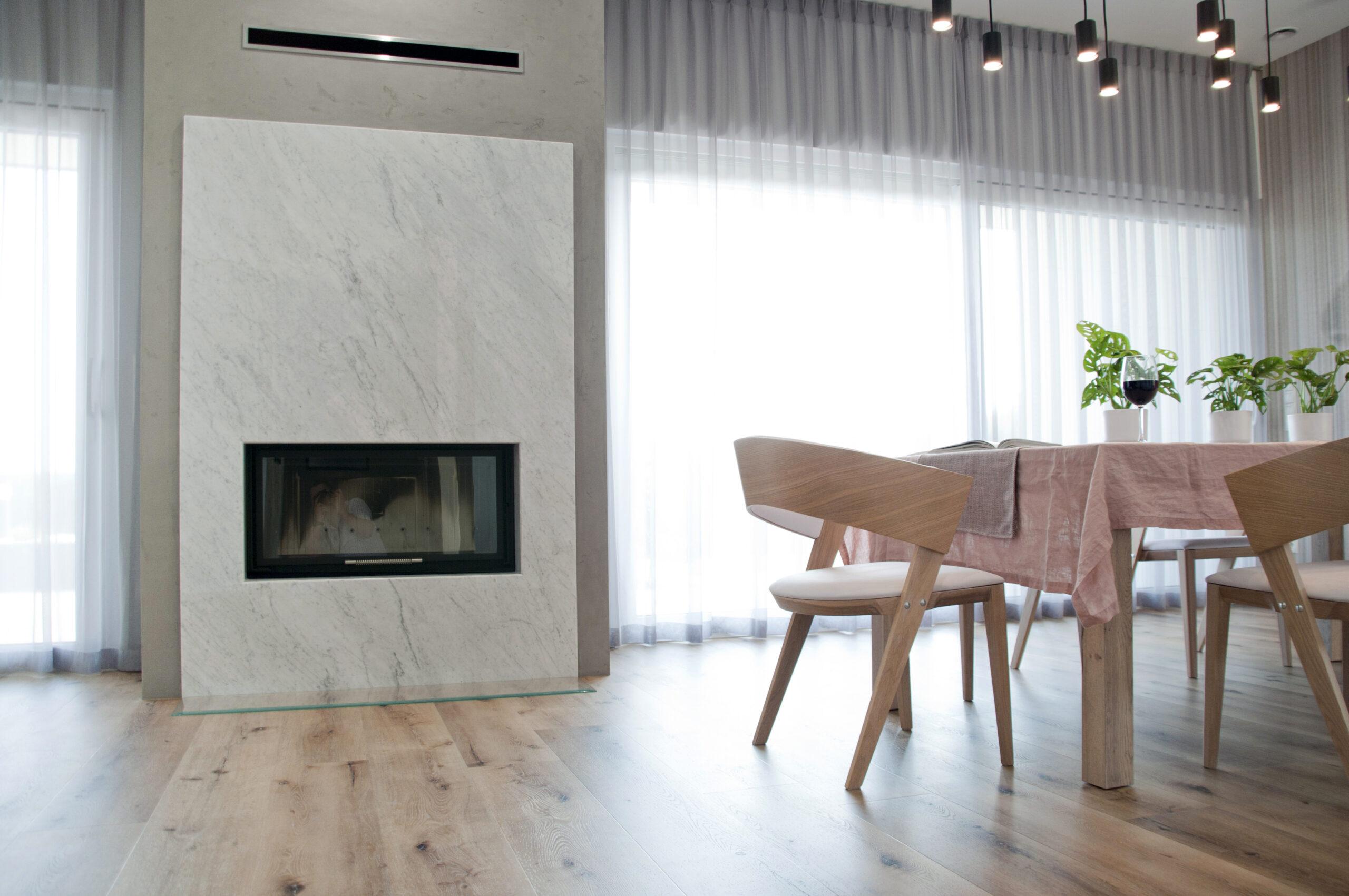 Hitze kominek Albero 19 ekologiczny nowoczesny wkład